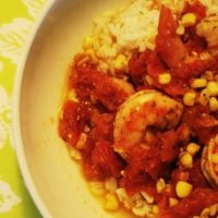 Mexican Shrimp Corn & Tomato with Rice