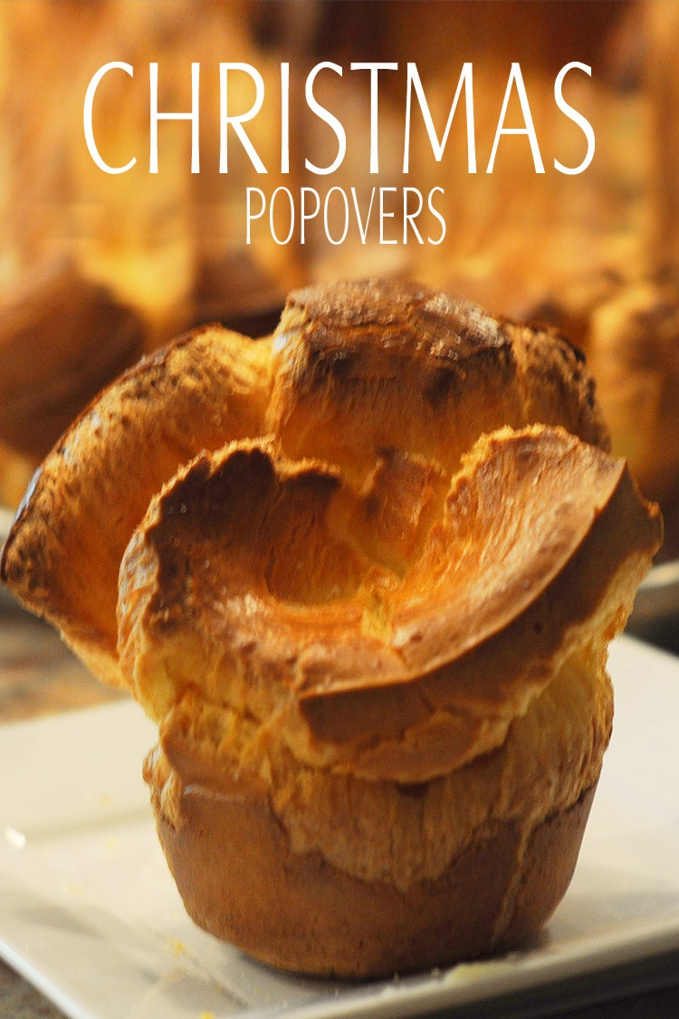 Christmas Popovers from Mom always fill the air the morning of Christmas. Fluffy popovers that my mom makes for breakfast are a tradition in my family.