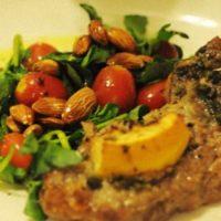 Lamb with Watercress Salad