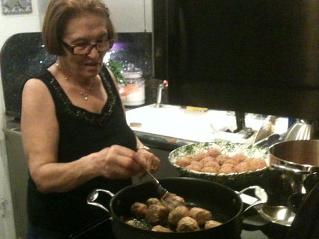 Cafe Martorano Meatballs
