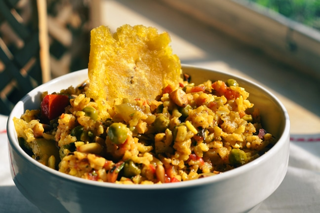 Vegan Indian Rice