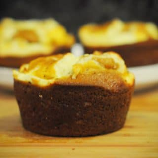 Giant Cream Cheese Pumpkin Muffins