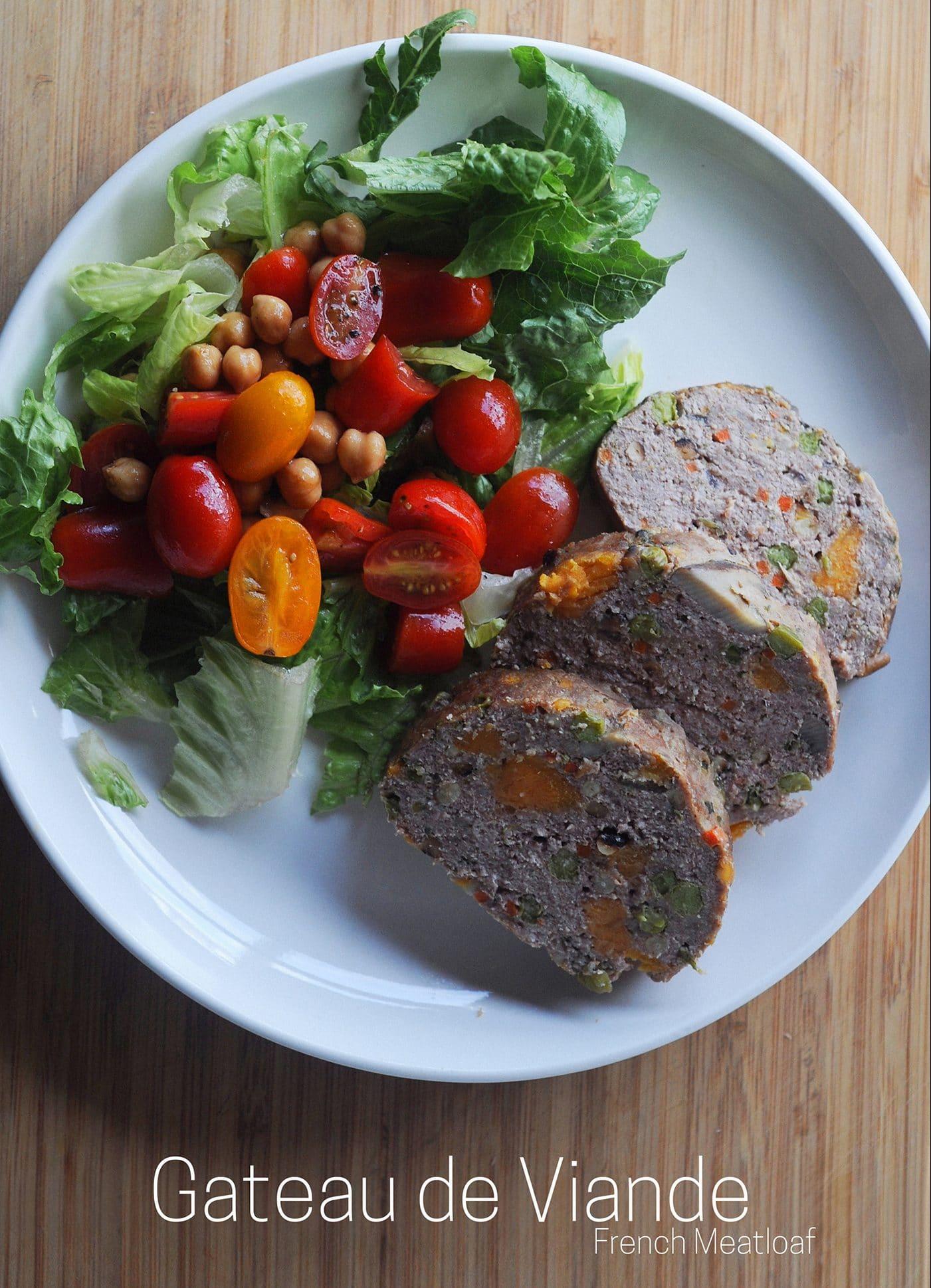 French Meatloaf - Gateau de Viande