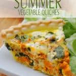 Gluten-Free Summer Vegetable Quiche