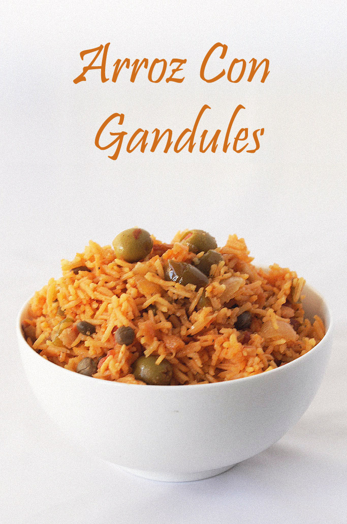 Arroz Con Gandules - Puerto Rican Rice with Pigeon Peas