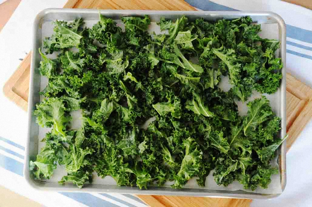 Homemade Kale Chips you won't miss Potato Chips