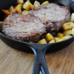 Pork Chops with Apples and White