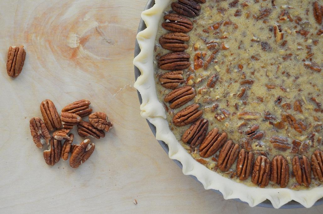 Bourbon and Chocolate Chip Pecan Pie