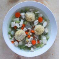 Matzo Ball Soup for Hanukkah