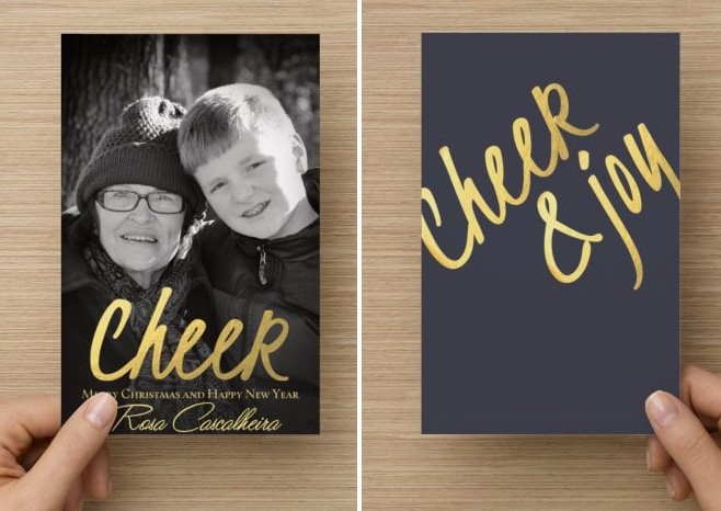 Christmas Card Season has Begun with VistaPrint