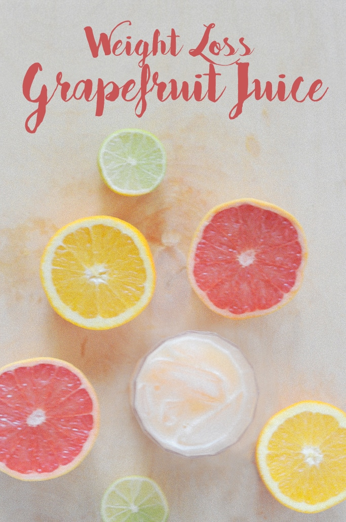 My Christmas Weight Loss Grapefruit Juice
