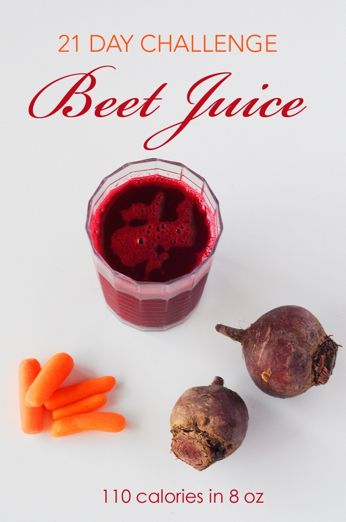 21 Day Challenge Day 2 - Making Beet Juice