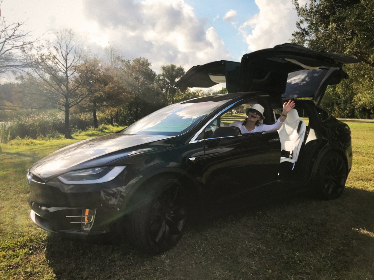 Tesla Model X and Furious S8