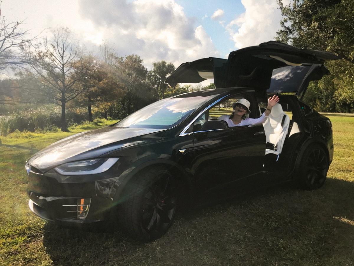 Tesla Model X and Furious S8