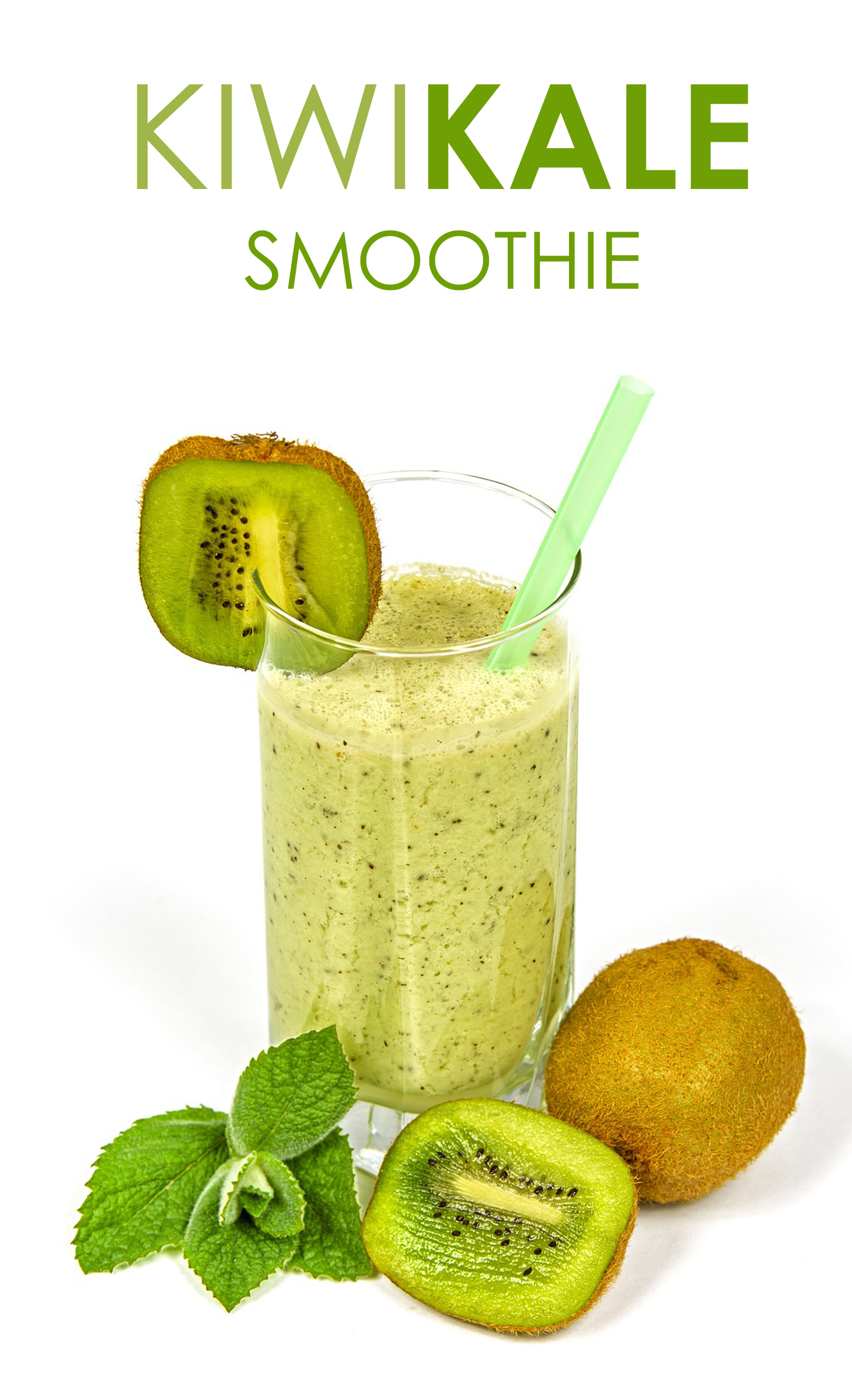 Kiwi Kale Smoothie Supports Weight Loss Is Perfect To Get Ready For The Summer Body You All Know What I Mean After A Long Winter And Bundled Clothes