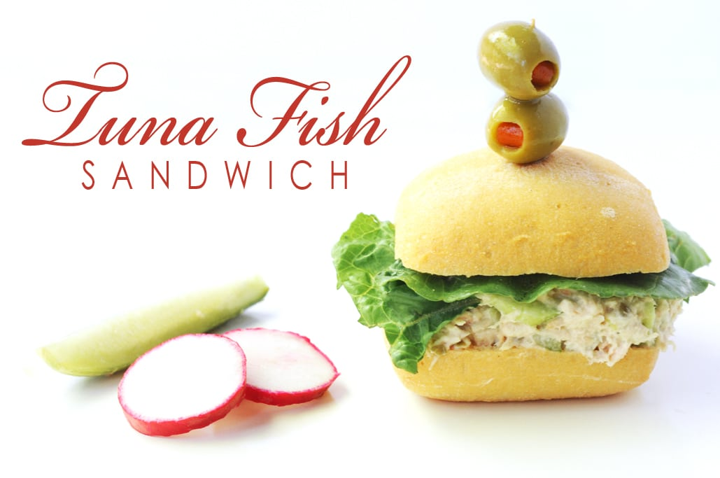 My Famous Tuna Fish Sandwich