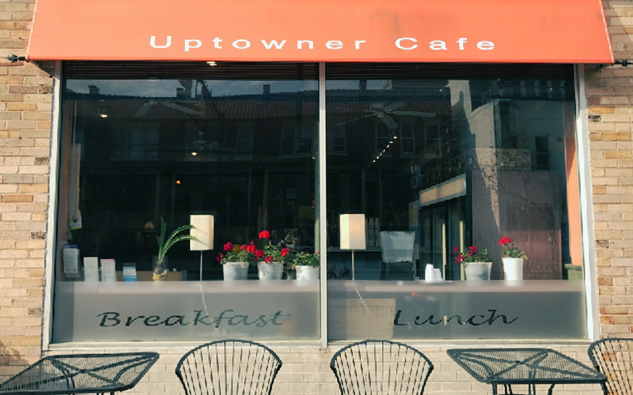 Uptower Cafe in Old Town Alexandria