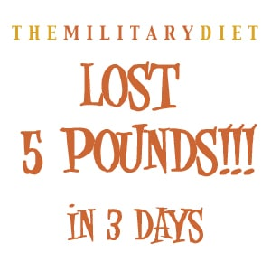 The Results of the Military Diet