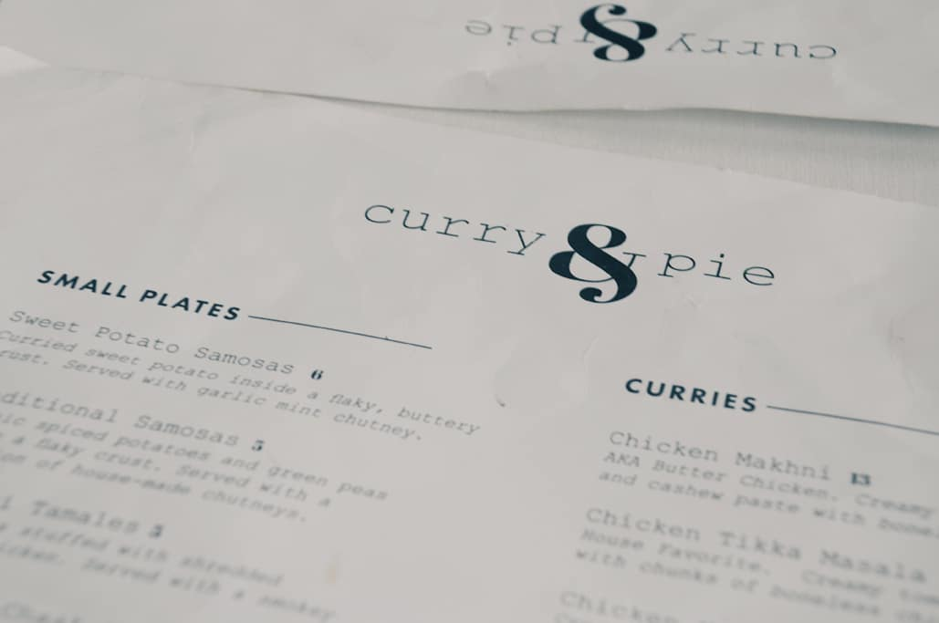 Curry & Pie in Georgetown