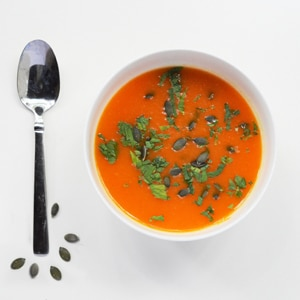 Detox Carrot and Ginger Soup in the Crock Pot