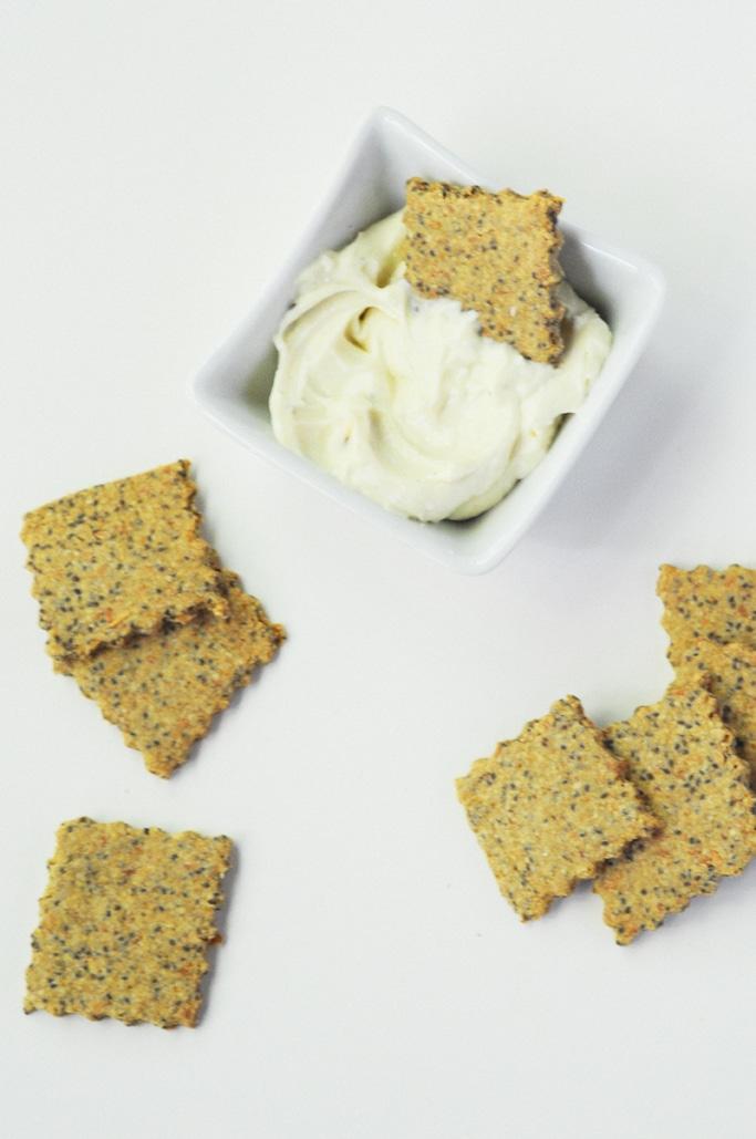 Multi Seed Gluten-Free Crackers