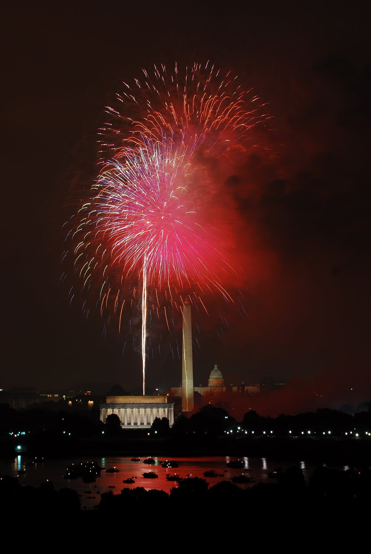 Agenda for the 4th of July in Washington DC