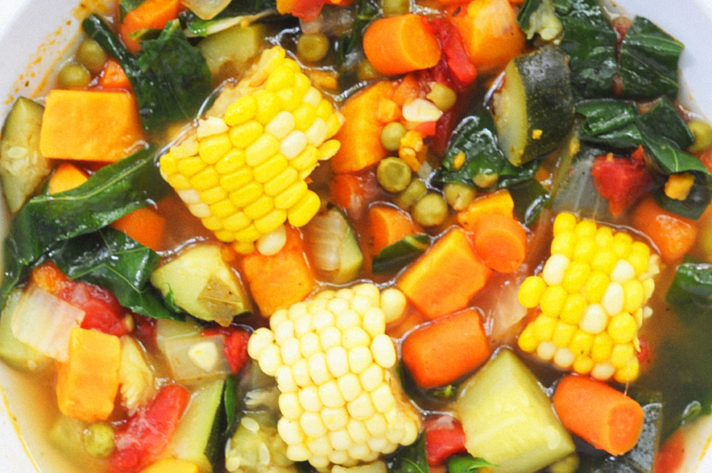 vegan summer vegetable soup recipe