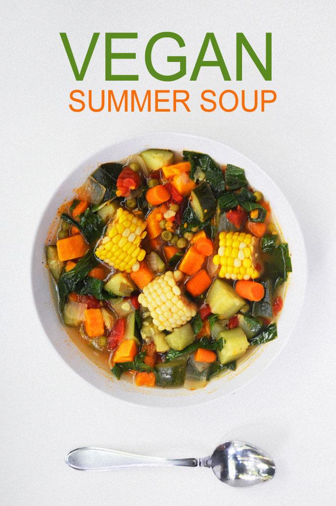 vegan summer vegetable soup recipes