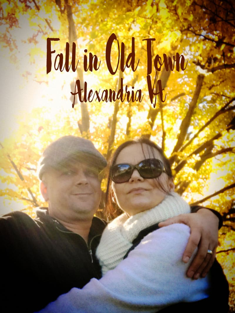 Fall in Old Town Alexandria