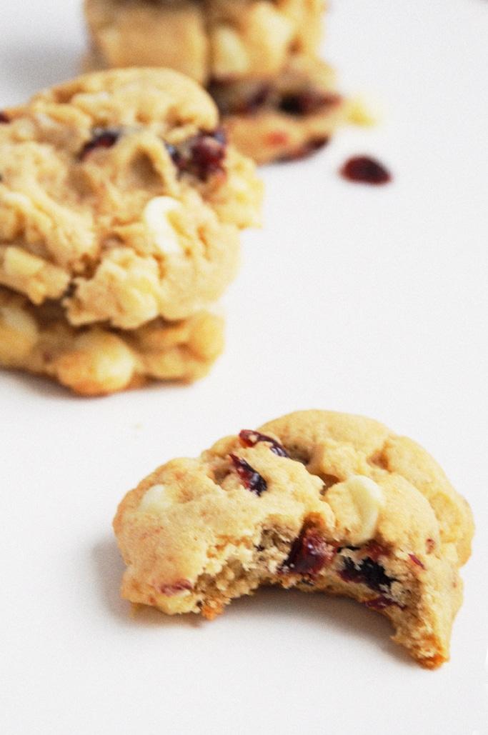 White Chocolate Cranberry Macadamia Cookies