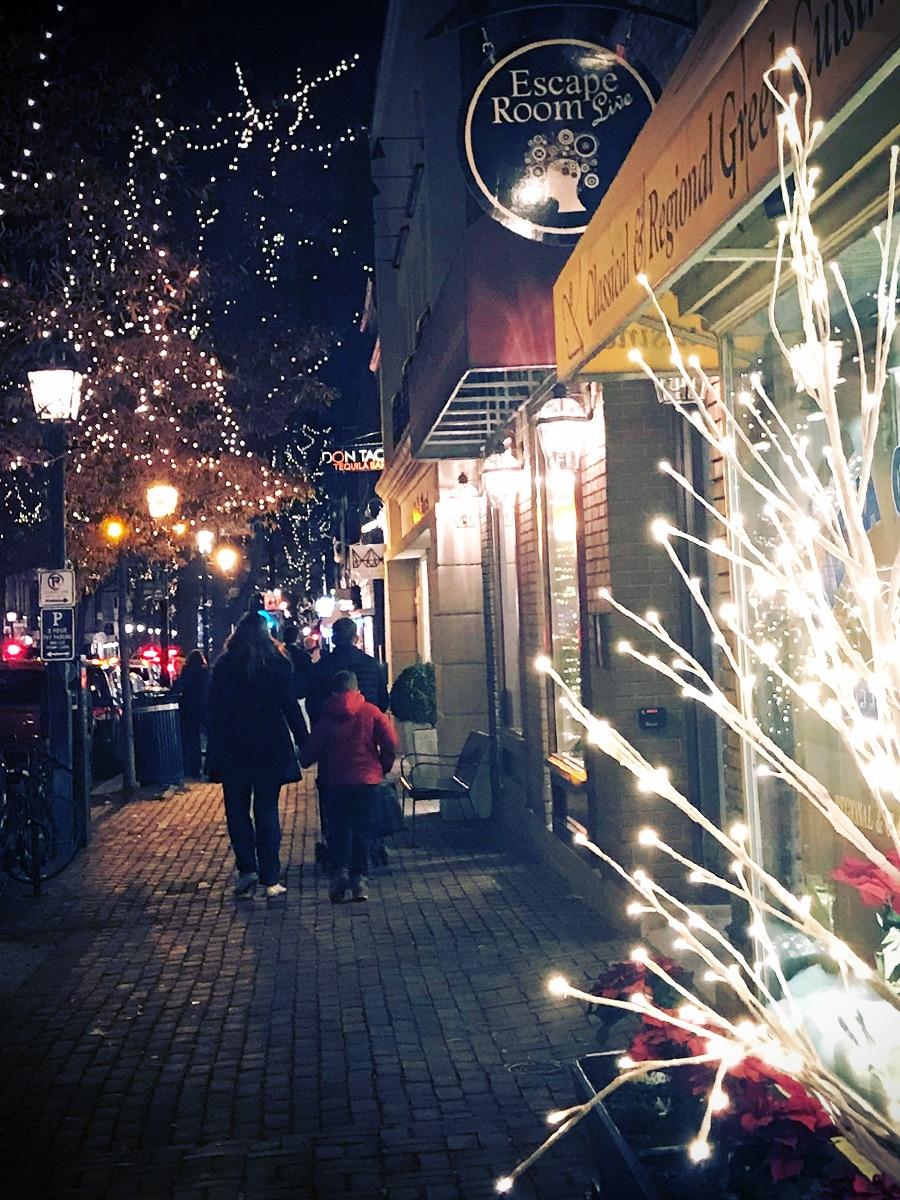 Old Town Alexandria Christmas Season
