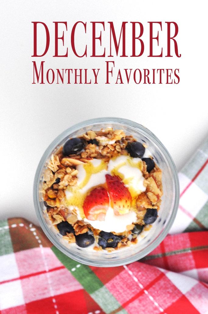 December Monthly Favorites
