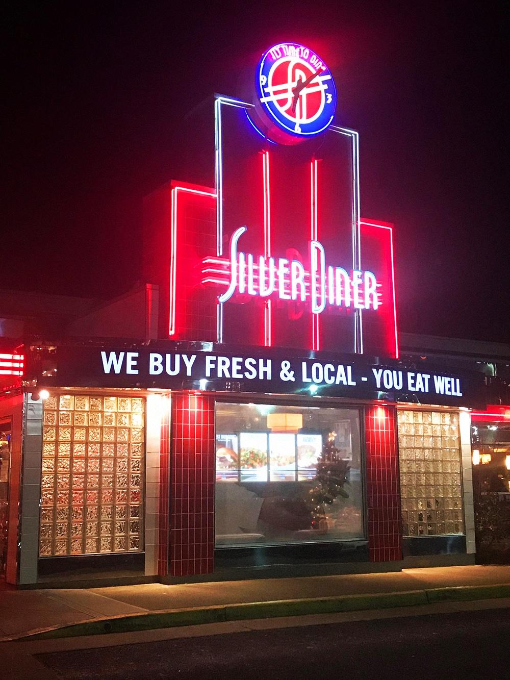 Date Night Silver Diner Tyson Corner