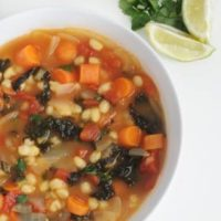 Vegan Mexican Hominy Soup