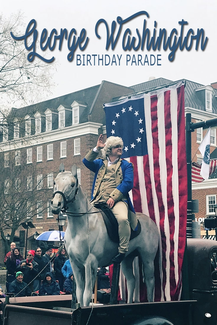George Washington Birthday Parade - a wonderful day in Old Town Alexandria.  Our first president of the United States live on in with a parade to celebrate.