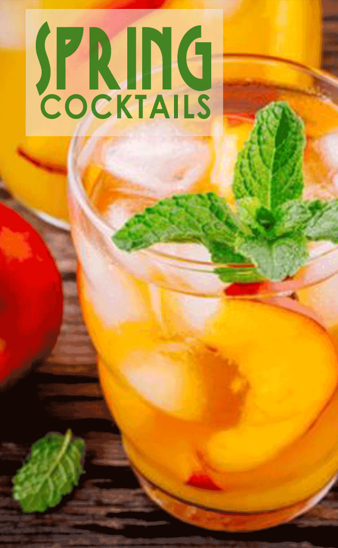 Ready for some Spring Cocktail recipes to bring in spring or celebrate Easter Sunday.