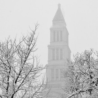 The Snow Day in Old Town - No School!