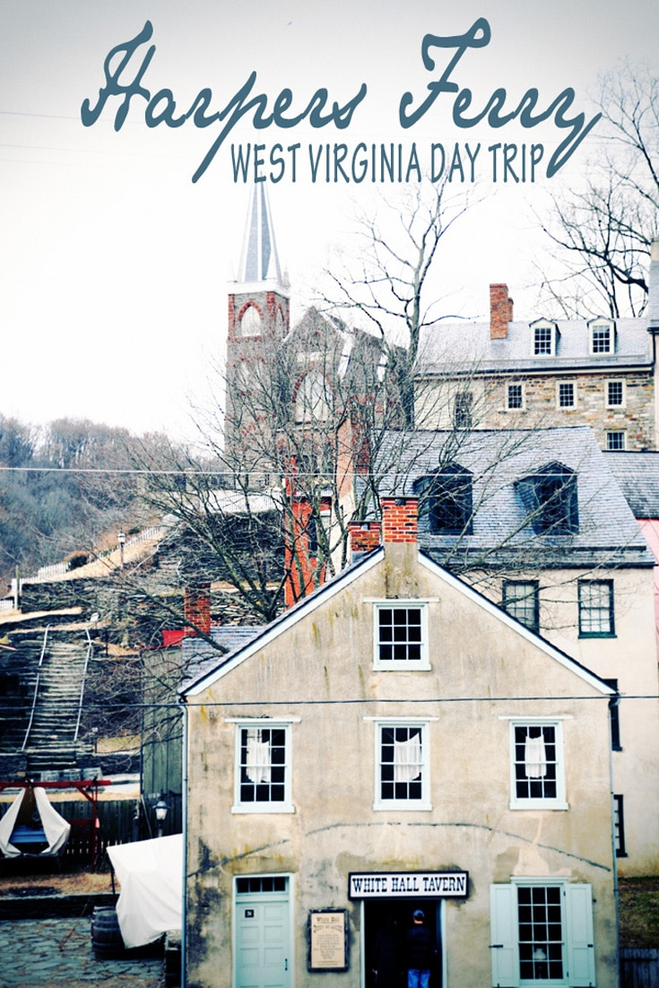 Harpers Ferry West Virginia | Day Trip on a Saturday morning adventure.  It was an hour from Washington DC and brought us back in time.