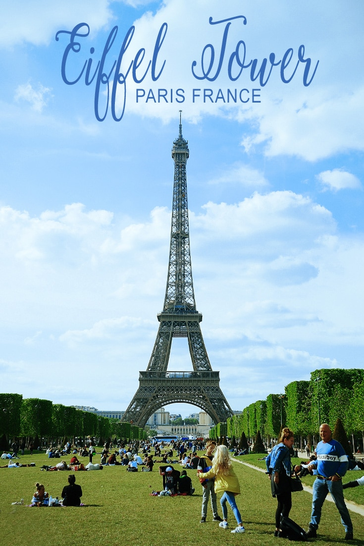 Eiffel Tower in Paris France is the landmark that most people know and love. Affordable to tour and easy to get to for a vacation in Paris.