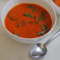 French Country-Style Tomato Basil Soup