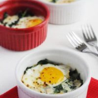 Quick Low-Carb Egg Breakfast