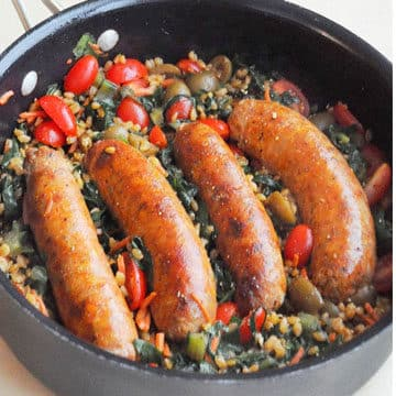 LOW-CARB ITALIAN SAUSAGE RECIPE