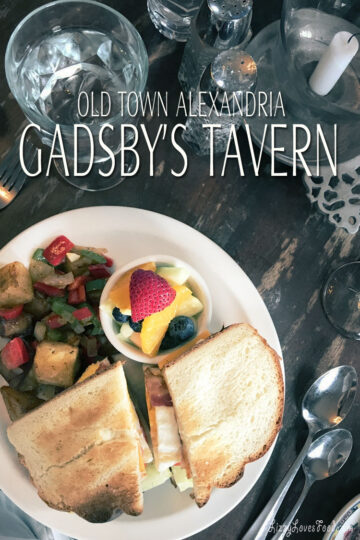 Sunday Brunch at the Gadsby's Tavern