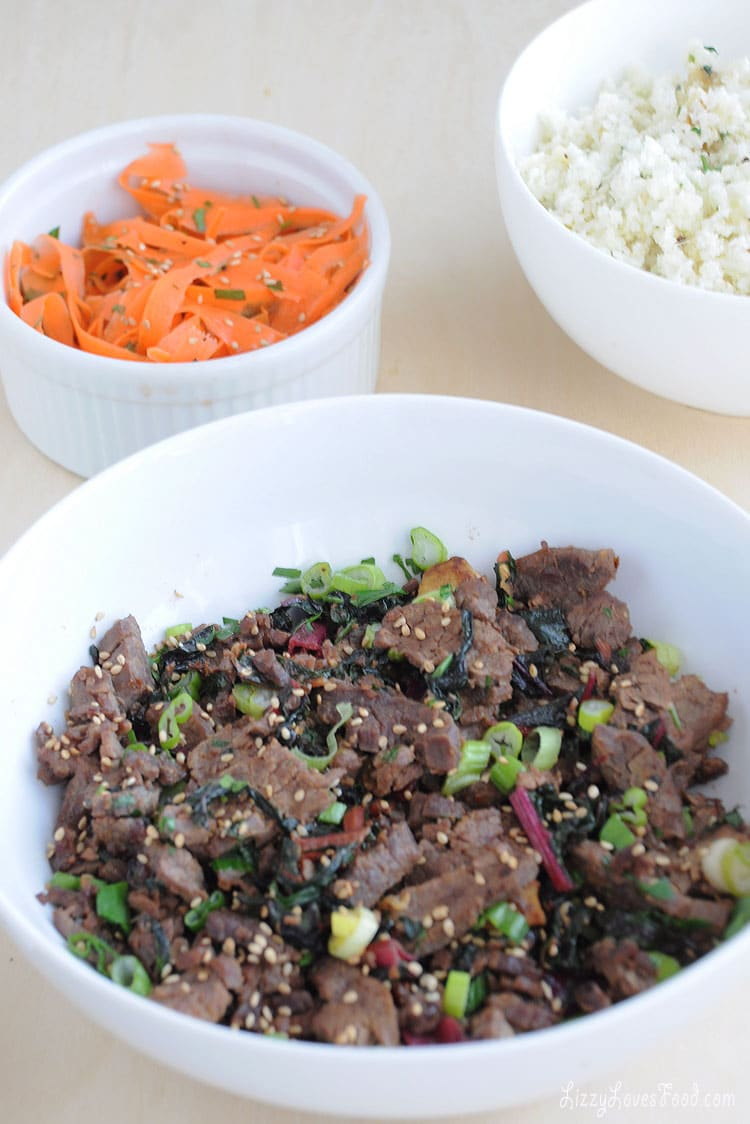 Low-Carb Teriyaki Beef Dinner