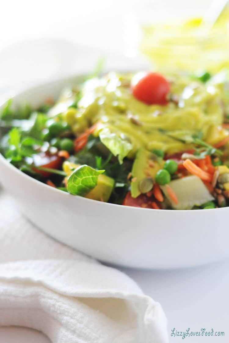 Low-Carb Avocado Salad