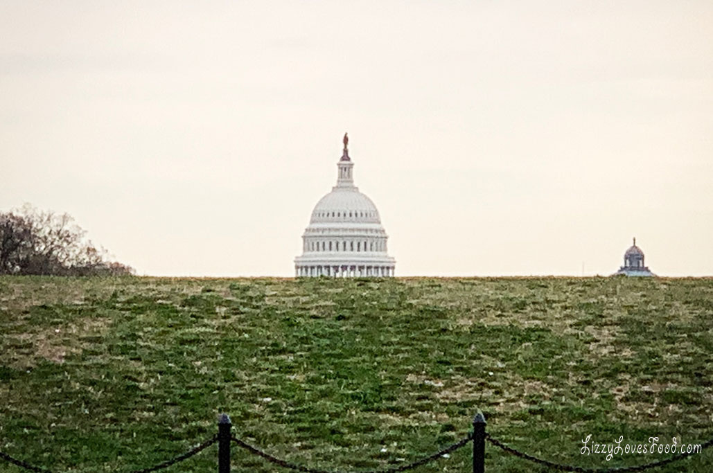 Capitol of Washington DC
