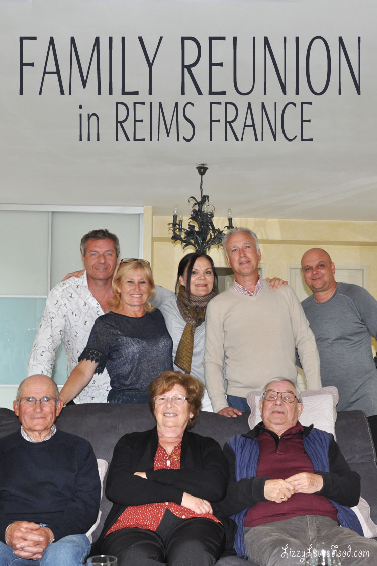 Family Reunion in Reims France