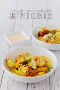 Air Fryer Corn Ribs