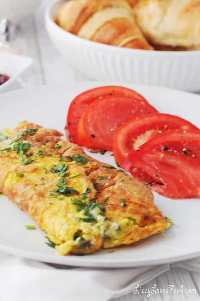 Low Carb Omelette For Brunch France Lizzy Loves Food
