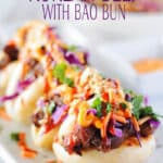 Korean Beef With Bao Bun